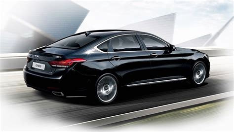 Hyundai Midsize by Tech Boasting 2015 Hyundai Genesis Midsize Sport Sedan
