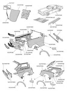Volvo P1800 Parts Parts For Volvo P1800 E S Es Panels
