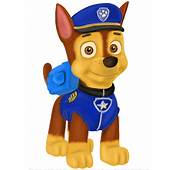 Learn How To Draw Chase From PAW Patrol Step