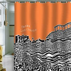 longhorns bathroom accessories 1000 ideas about orange shower curtains on