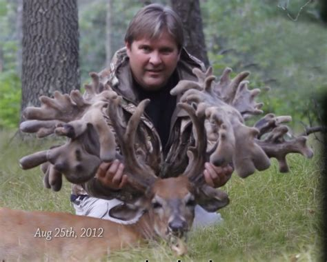 Records In Wisconsin World Record Buck Wisconsin