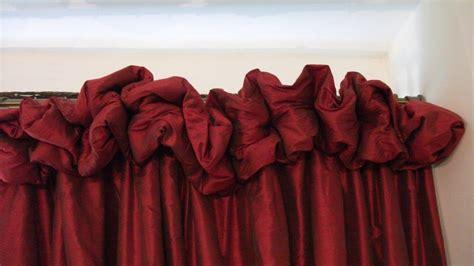 the little curtain company puffball heading the little curtain workshop