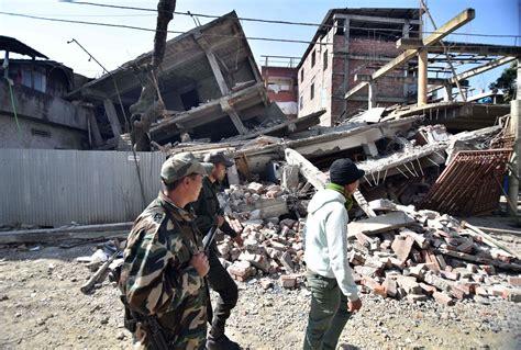 earthquake news india earthquake kills at least 10 injures hundreds in india