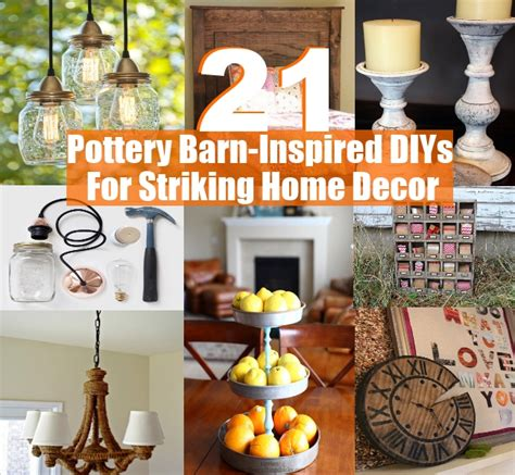 home decor pottery barn 21 pottery barn inspired diys for striking home decor diy home things