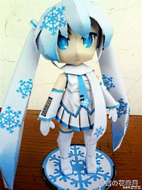 Paper Craft Websites - vocaloid papercraft vocaloid just another papercraft