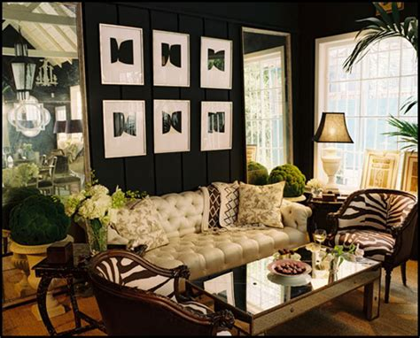 safari style home decor color roundup using black in interior design the