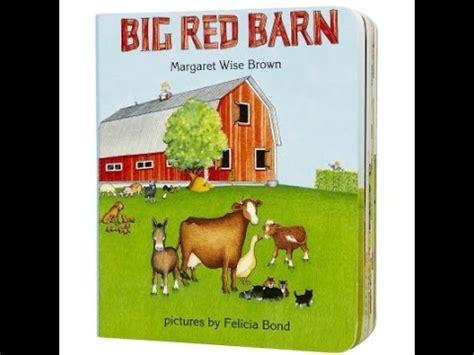 Barn Book big barn read aloud along story book for children