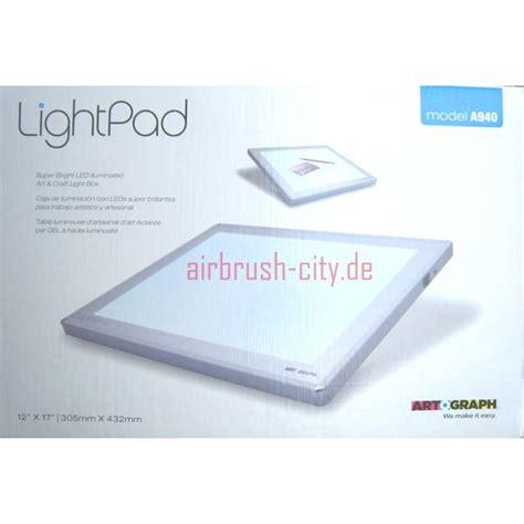 Artograph Light Pad by Led Light Pad A940 Artograph Leuchttisch