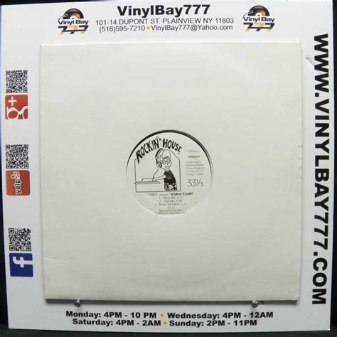 1988 house music used 12 quot single vg tyree video crash 1988 rockin house music vinylbay777