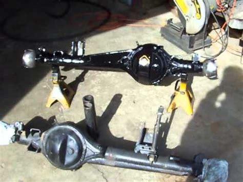 toyota straight axle modification youtube