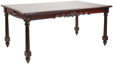 antique style dining table in mahogany wood buy