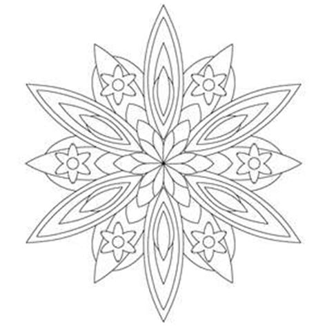 kaleidoscope coloring sheets coloring pages