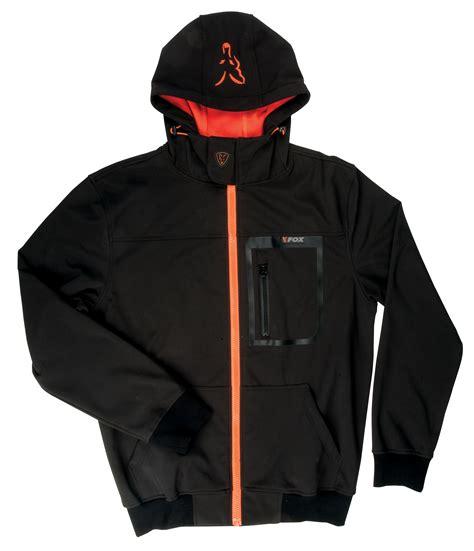 Hoodie Orange Black fox black orange softshell hoody chapmans angling