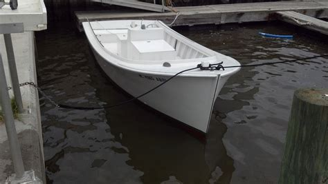 home made wooden boats the hull truth boating and harkers island carolina juniper planked skiff the hull