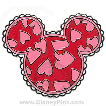 mickey valentines day your wdw store disney mickey mouse icon pin
