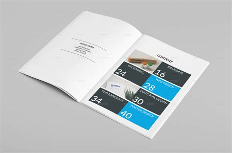 multipurpose a4 portfolio brochure template by