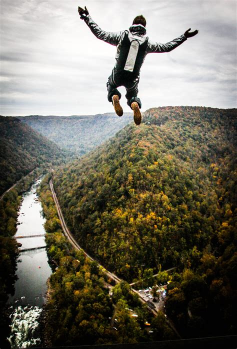 new jump bridge day base jump getaways for grownups