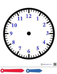 clock templates for telling time time worksheets time worksheets for learning to tell time