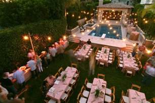 Backyard Party 10 Out Of The Box Engagement Party Ideas Wedded Wonderland