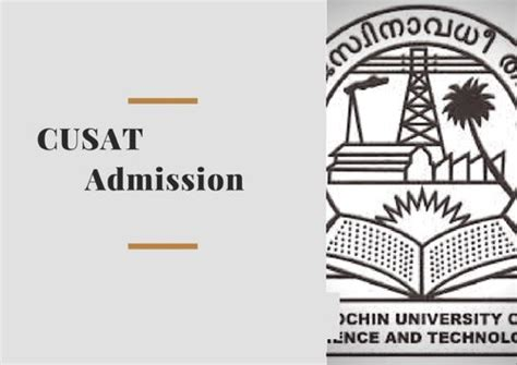 Cusat Mba Entrance 2017 cusat admissions 2018 for msc mtech mba