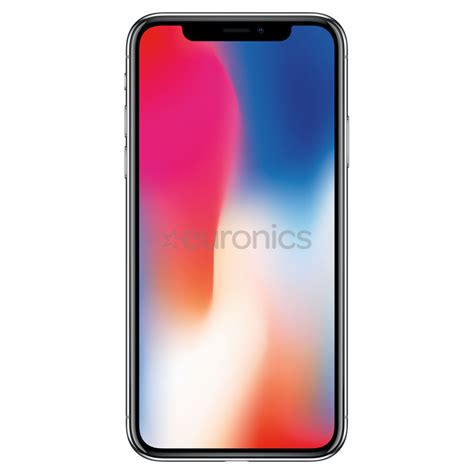 a iphone 10 smartphone apple iphone x 256 gb mqaf2et a