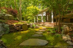 Hillside Home Designs Mooning Over Mosses Moss And Stone Gardens