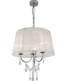 argos chandeliers buy inspire voile chandelier ivory at argos co uk your