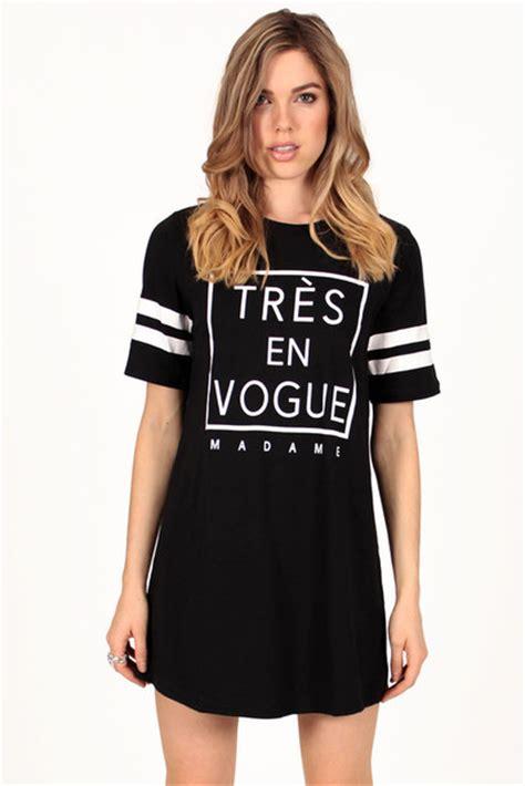 Dres Jersy dress tres en vogue vogue sportswear jersey jersey