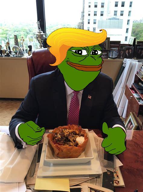 Trump Pepe Memes - pepe trump taco bowl donald trump know your meme