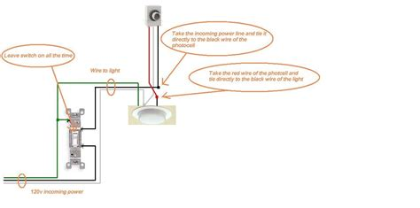 3 Wire Photocell Wiring Diagram