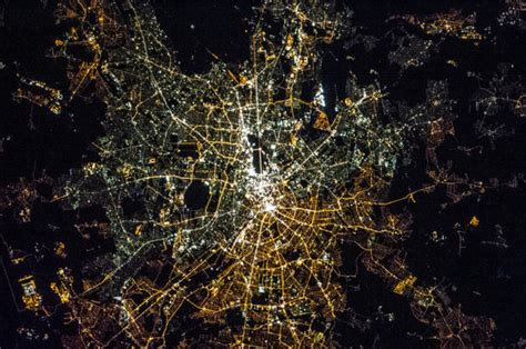 midwest city lights cairo city lights from space pictures cbs news