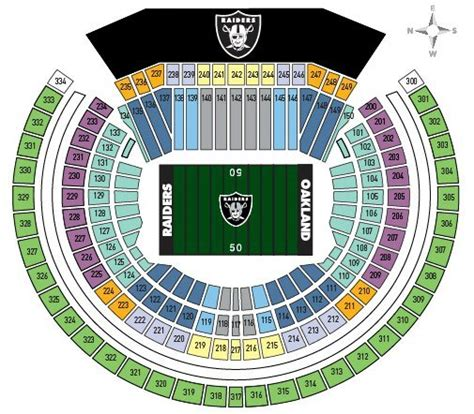 raiders seating chart oakland raiders schedule 2017 tips to attend a