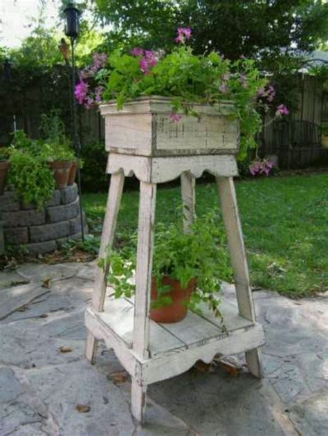 Shabby Chic Plant Stand Wade Pinterest Plant Stands Shabby Chic Plant Stand
