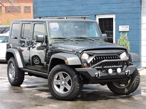 used jeep wrangler rubicon used 2010 jeep wrangler unlimited rubicon at auto house