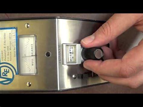 strain gage testing and calibration youtube