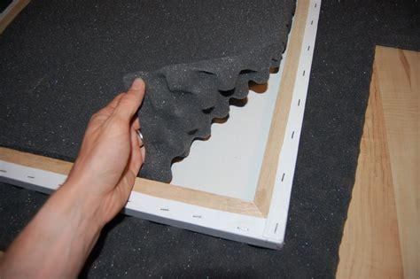 decorative sound absorbing panels diy home improvment