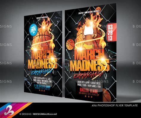 basketball madness flyer uxfree com