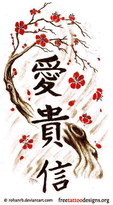 japanese tree tattoos designs cherry blossom tree design ideas