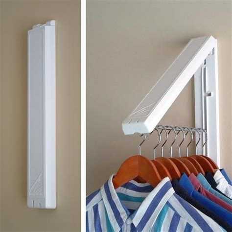 Laundry Room Shelf With Hanging Rod - best 25 clothes hanger rack ideas on pinterest diy purse hanger for closet no more wire