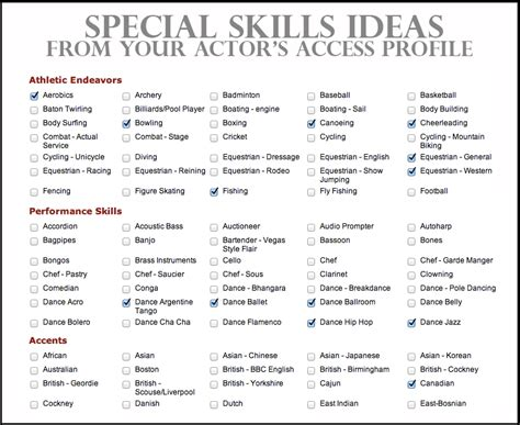 List Of Skills For A Resume by Resume Skills Exles Ingyenoltoztetosjatekok