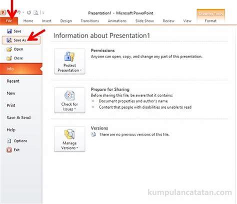 format file video untuk powerpoint cara konversi file powerpoint ke format pdf ppt ke pdf