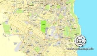 odessa ukraine printable vector city plan map