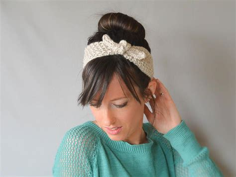 knitting pattern for headbands vintage tie up headband knitting pattern favecrafts com