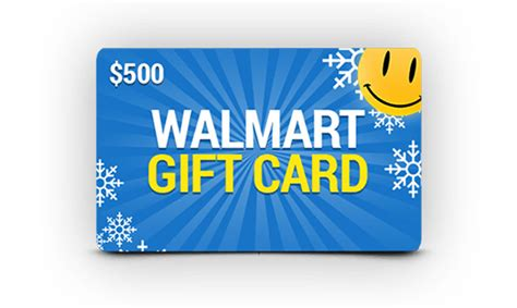 Wallmart Gift Cards - get a 500 walmart gift card get it free
