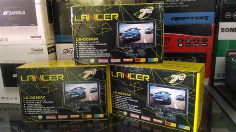 Harga Tv Mobil Merk Varity work shop car audio semarang ws788 promo unit car