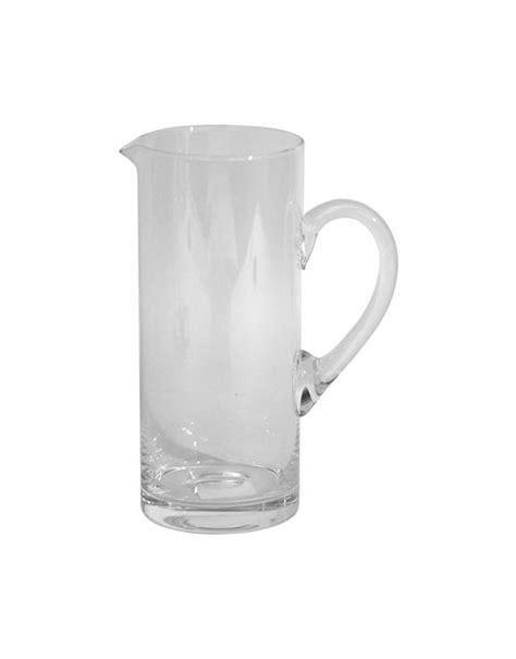Cerve Bicchieri Cerve Caraffa Cilindrica In Vetro Lt 1