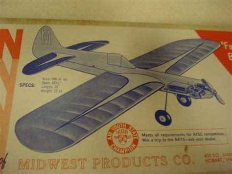 pattern airplane kits midwest products magician stunt pattern control line