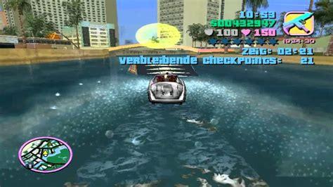 Karet Boot Rackstir Grand Civic gta vice city 100 walkthrough 041 umberto robina stunt boot german