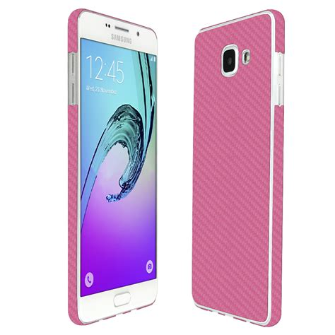 Gliter For Samsung A7 Color Pink skinomi techskin samsung galaxy a7 2016 pink carbon fiber skin protector