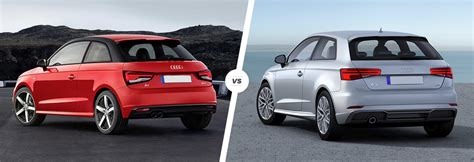 audi model comparison audi a1 vs a3 side by side comparison carwow